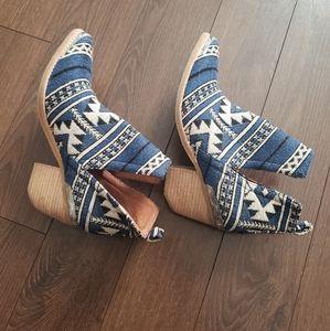 Jeffrey Campbell Cromwell Bootie - Aztec Textile